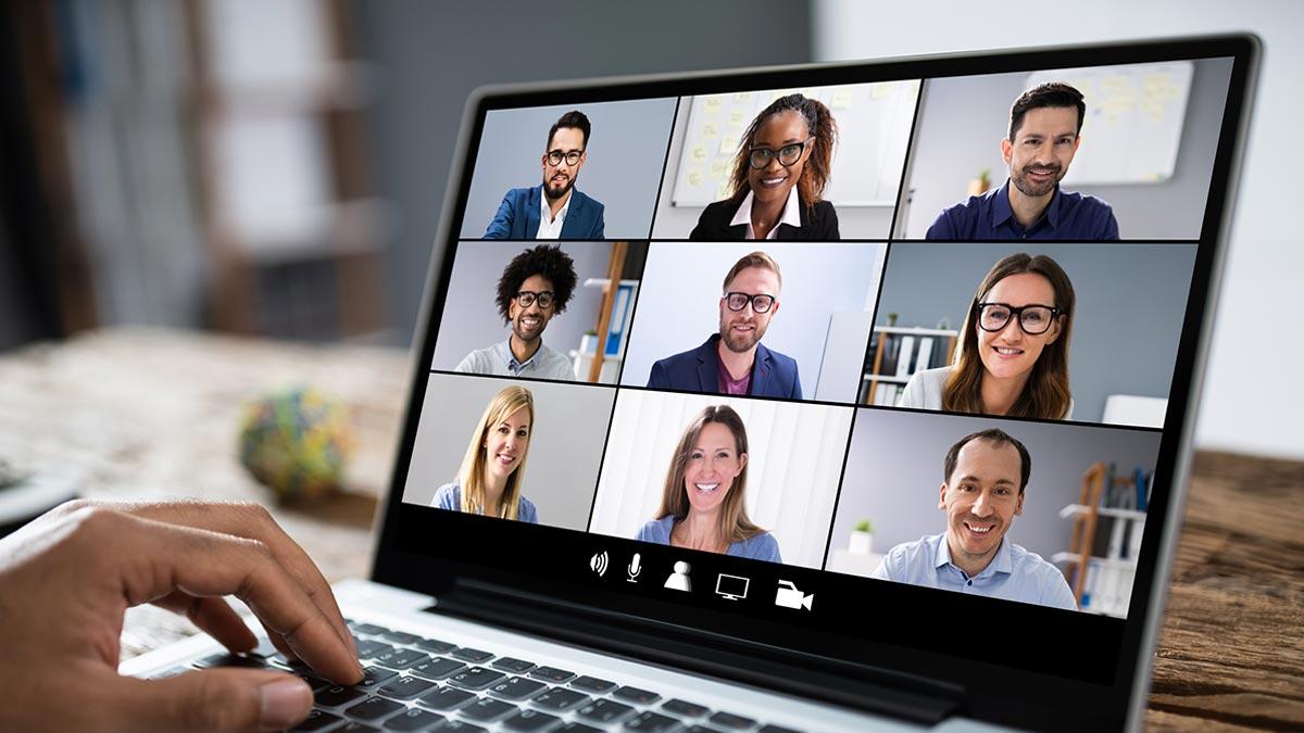 virtuelle Kundengespräch